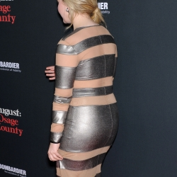 Abigail Breslin in tight dress at premiere