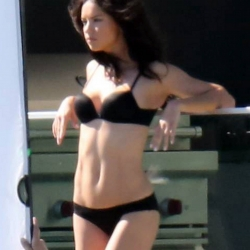 Adriana Lima backstage for Victoria's Secret