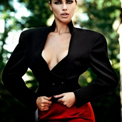 Adriana Lima Vogue Magazine Brazil Oct 2013