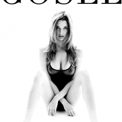Alyssa Arce see through in Gosee magazine