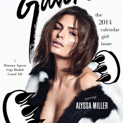 Alyssa Miller sexy in Galore Magazine