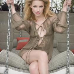 Amber Heard SNL Photoshoot