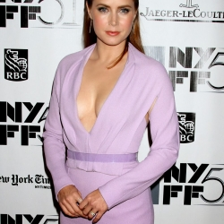 Amy Adams deep cleavage