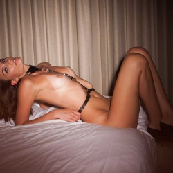 Andrea Yurko Topless in Hotel Shoot