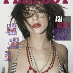 Asia Argento on Playboy