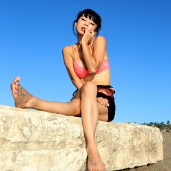 Bai Ling photoshoot in Los Angeles