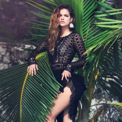 Barbara Palvin hot in MarieClaire Italy