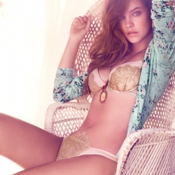 Barbara Palvin Hot in Twin Set Lingerie
