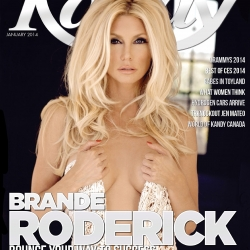 Brande Roderick on Kandy Magazine