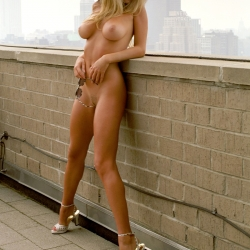Camille Grammer Topless for Playboy Mag