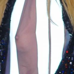 Candice Swanepoel nipslip