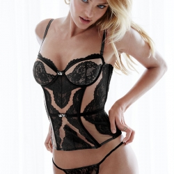 Candice Swanepoel in Lingerie