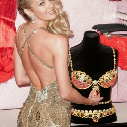 Candice Swanepoel & Royal Fantasy Bra