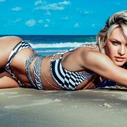 Candice Swanepoel Vogue Photoshoot