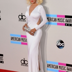 Christina Aguilera at Amas 2014