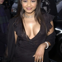 Christina Milian nipples see through