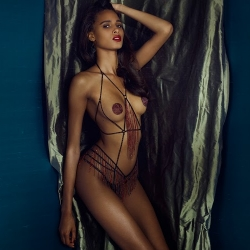Cindy Bruna for Agent Provocateur