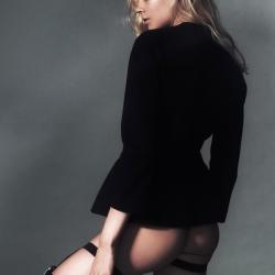 Daria Oleksenko Topless in Bambi Mag.