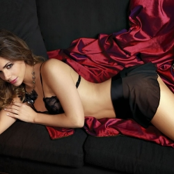 Dominique Pestana booty thong shots in mordisco lingerie