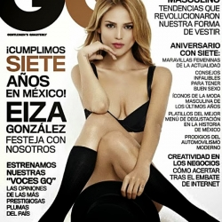 Eiza Gonzalez lingerie for GQ Mexico