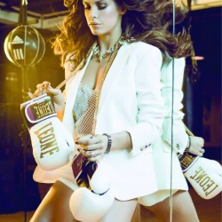 Elisabetta Canalis on Maxim Magazine Italy