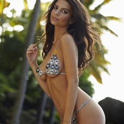 Emily Ratajkowski for Sport Illustrated Swimsuit 2014