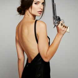 Emily Ratajkowski in a Stone Cold Fox shoot