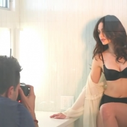 Emmy Rossum Behind the Scenes of Esquire Photoshot