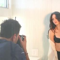 Emmy Rossum Behind the Scenes of Esquire Photoshot