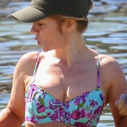 Geri Halliwell bikini in Sydney