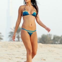 Jasmin Walia Shows Off Her Bikini