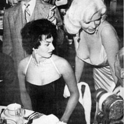 Jayne Mansfield & Sophia Loren