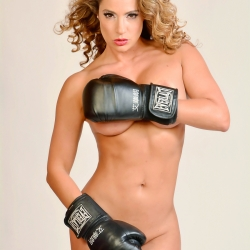 Jennifer Nicole Lee Covered Topless