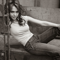 Jessica Alba in Isabel Schneider photoshoot