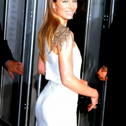 Jessica Biel booty at MoMa