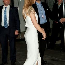 Jessica Biel booty at MoMa