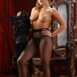 Jodie Gasson naughty topless photoshoot