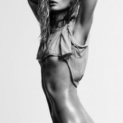 Julia Stegner topless shoot