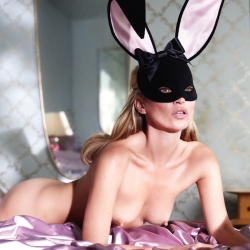 Kate Moss topless on Playboy