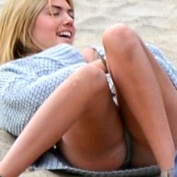 Kate Upton photoshoot on the beach