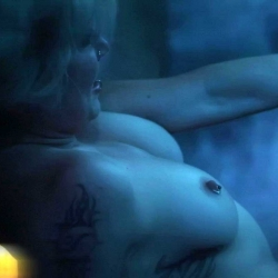 Katie Cassidy and Ashlynn Yennie Topless
