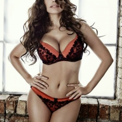 Kelly Brook for New Look lingerie collection