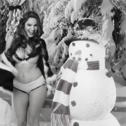 Kelly Brook on Love Magazine