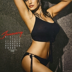 Kelly Brooks 2014 Lingerie Calendar
