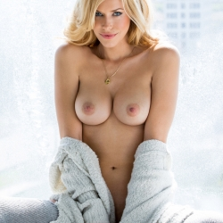 Kennedy Summers topless on Playboy