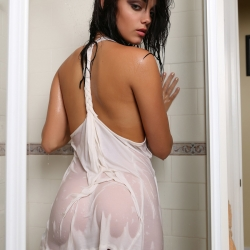 Kris Karson Wet See-Through