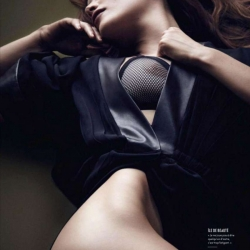Laetitia Casta on Vanity Fair France