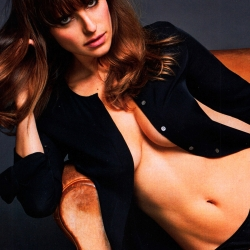 Lake Bell Covered Topless in Esquire Magazine