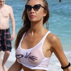 Laura Cremaschi See-Through in Miami