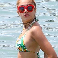 Lourdes Leon Wearing a Bikini